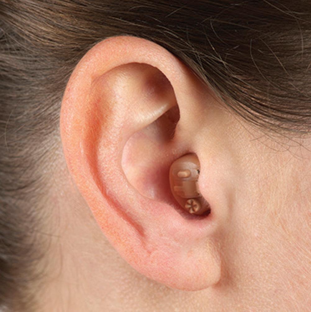 in ear hearing aid